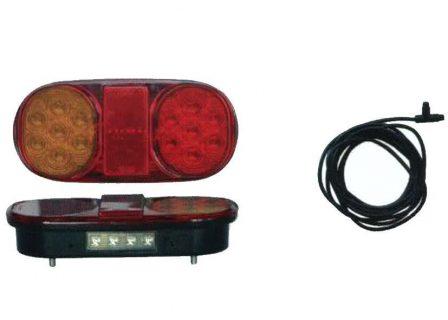 Trailer Light SUBMERSIBLE TRAILER LAMP – TWIN PACK AND LOOP Trailer Caravan Part