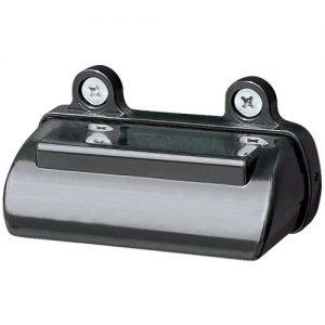 Manutec NUMBER PLATE LAMP – BLACK – RETAIL Trailer Caravan Spare Part