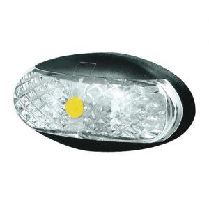 Manutec SIDE MARKER LAMP – AMBER – 2.5M CABLE – RETAIL Trailer Caravan Part