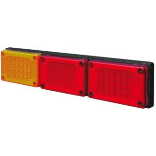 Trailer Lights Series 601 -Triple Stop and Tail and Indicator – 10-30v Trailer