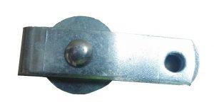 Manutec  Brake Cable Pulley – Zinc Trailer Caravan Spare Part