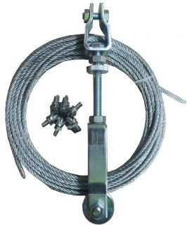 Manutec  Brake Cable Adjuster Set – Heavy Duty – Zinc Trailer Caravan Spare Part