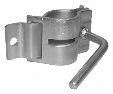 Clamp for standard Jockey Wheels