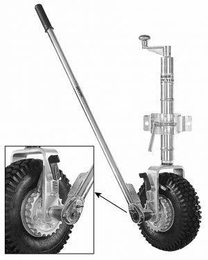 Manutec Easy Mover Pneu. Wheel and Clamp Trailer Caravan Spare Part