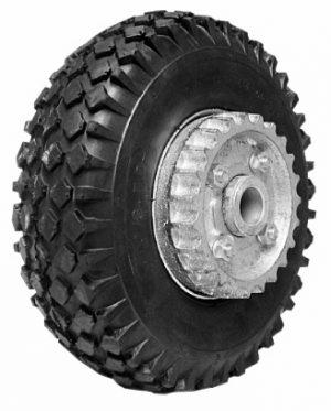 Manutec Easy Mover 10 in Pneu. Wheel with ratchet cog for EM1 Trailer Caravan