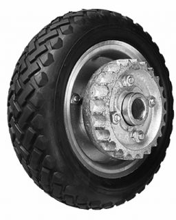 10 in Solid (cushion rubber) Wheel