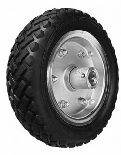 10 inch Solid (cushion rubber) Wheel to suit EM2S