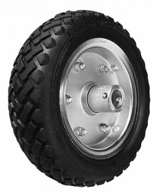 Easy Mover 10 inch Solid (cushion rubber) Wheel to suit EM2S Trailer Caravan