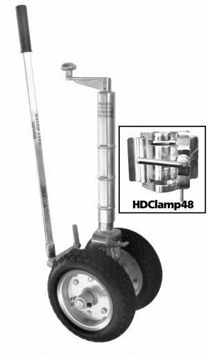Manutec Twin EM Rubber J/W HD Clamp Trailer Caravan Spare Part