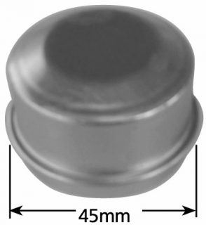 (45.2mm) Grease Cap – Zinc