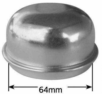 2 1/2  (63.6mm) Grease Cap – Zinc