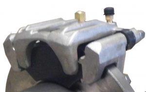 Manutec Hydraulic Caliper Assembly, pads,slides,bolts LEFT HAND Trailer Caravan