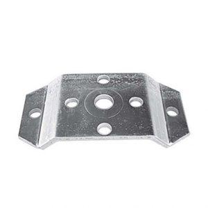 Manutec  Back Plate of HDSB1 swivel bracket Trailer Caravan Spare Part