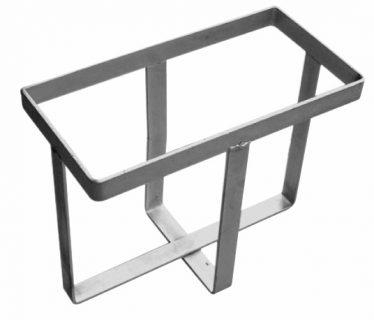 Metal Strap Jerry Can Holder – Zinc