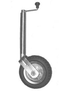 2021 Standard Jockey Wheel 10″ Pneu Steel Centre & Bearings No Bracket 350kg