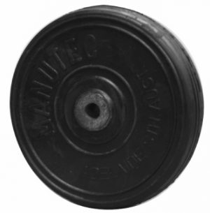 8 inch (200mm) Solid Rubber Wheel