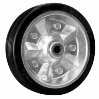 Wheel(200mm rbr tyre) Z/cntr 16mm