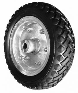 10 (3.50 x 4)Solid Rubber Wheel H/D
