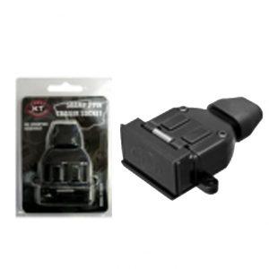 Manutec 2 PIN 50 AMP FLAT TRAILER PLUG AND SOCKET SET Caravan Spare Part