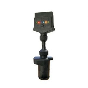 Manutec SUITS 7 PIN FLAT Trailer Socket TO 7 PIN LGE ROUND PLUG Caravan Spare Part
