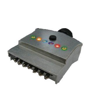 7 PIN FLAT MALE PLUG – METAL – LED