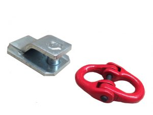 Manutec  5.3T Rated Butterfly Clip and W/O Bracket Trailer Caravan Spare Part