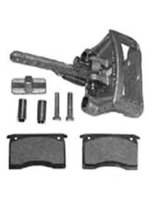 Manutec Mechanical Disc Brake Caliper, pads,slides,bolts Trailer Caravan Part
