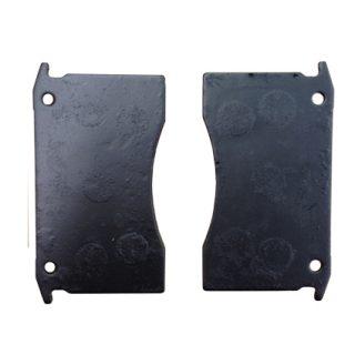 Manutec Mechanical Brake Caliper Pads (Pair) Trailer Caravan Spare Part