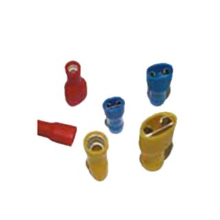 BLUE FULLY INSULATED FEMALE TERMINAL 6.3mm