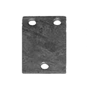 Manutec  Coupling Back Base Plate – 3 Hole Trailer Caravan Spare Part