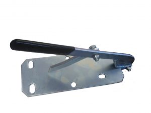 Manutec  Mounting Plate with Handbrake Trailer Caravan Spare Part