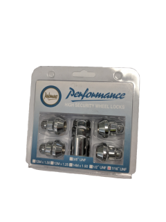 1/2 inch std Wheel Lock Nut Set – CHROME