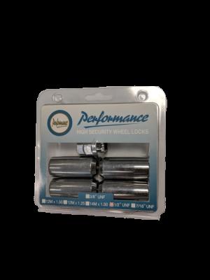 Manutec 1/2 inch Long Wheel Lock Nut Set – CHROME Trailer Caravan Spare Part