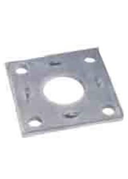 Square Mounting Plate - 40mm Round