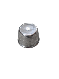 PUSH IN SMALL ROUND CHROME PLASTIC CAP – 68MM