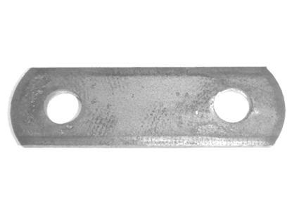5/8 IN SHACKLE PLATE - GALV