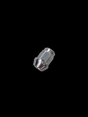 Manutec Hub Components 7/16 inch STD Wheel Nut – CHROME Trailer Caravan Part