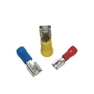 YELLOW PRE-INSULATED FEMALE 6.3mm