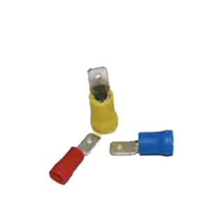 YELLOW PRE INSULATED MALE 6.3mm