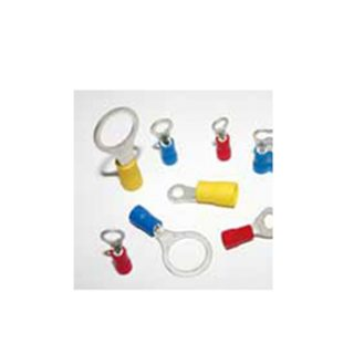 YELLOW RING TERMINAL 8mm (2.5mm-4mm Cable)