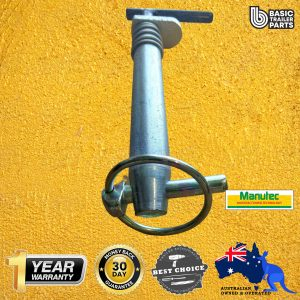Manutec Ozhitch Connection Pin (with Linch Pin) – OZHITCH3.5 Trailer Caravan