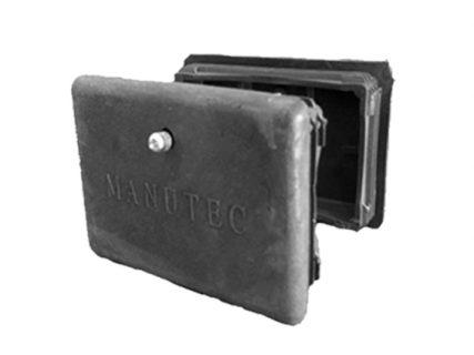 Manutec  Plastic End Caps (2) 120mm X 80MM for ASSW-HD Trailer Caravan Spare