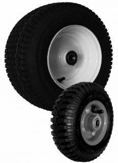 350 x 4 Pneumatic Wheel- Plastic Centre