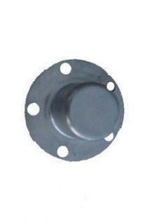 Galvanised Steel 70mm Overcap Ford Pattern – Wide Flange