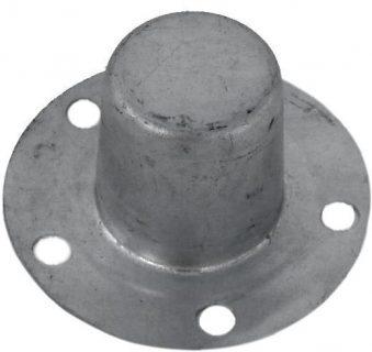 Galvanised Steel 60MM Overcap HT Pattern