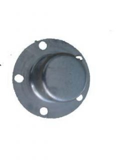 Galvanised Steel 80mm Overcap HT Pattern