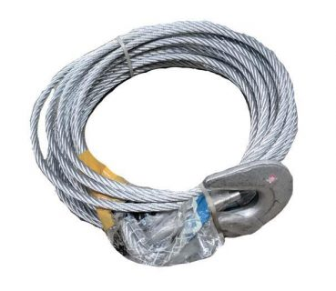 Steel Cable 8.2m x 8mm – Snap Hook