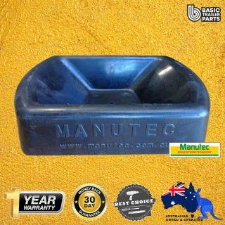 Manutec Wheel Holder Pad – Rubber Trailer Caravan Spare Part