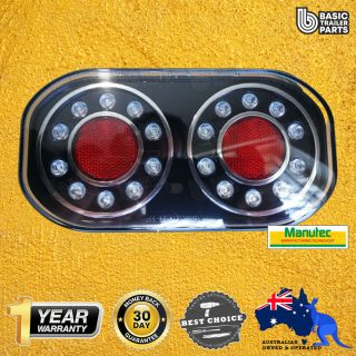 Trailer Light COMBINATION LED AUTOLAMP MARINE STOP/TAIL/INDICATOR Caravan Part