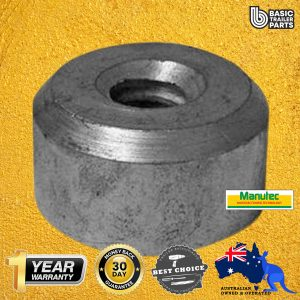 Manutec Jockey Wheel Lifting nut (20mm) to suit JW7/JW8ASHD/JWHDX Trailer Caravan Part